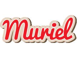 Muriel chocolate logo