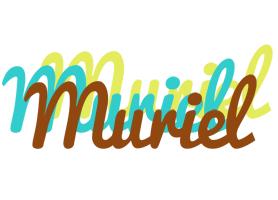 Muriel cupcake logo