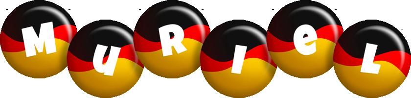 Muriel german logo