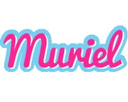 Muriel popstar logo