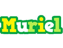 Muriel soccer logo