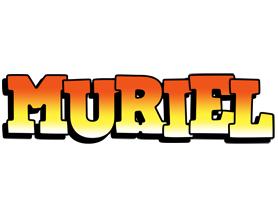 Muriel sunset logo