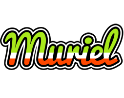 Muriel superfun logo