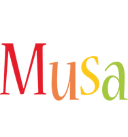 Musa birthday logo