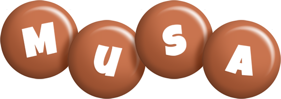 Musa candy-brown logo