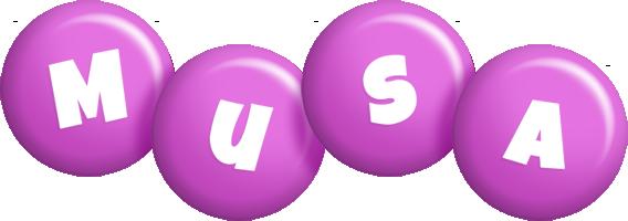Musa candy-purple logo