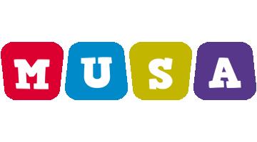 Musa daycare logo