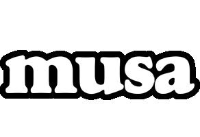 Musa panda logo