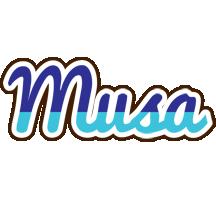 Musa raining logo