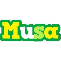 Musa soccer logo