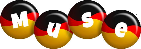 Muse german logo