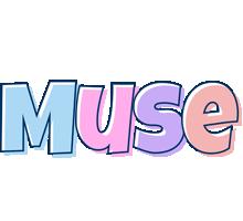 Muse pastel logo