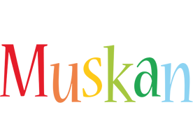 muskan logo name logo generator smoothie summer birthday