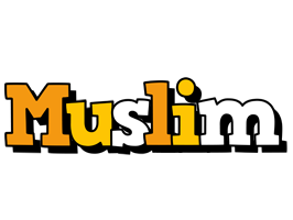 Muslim cartoon logo