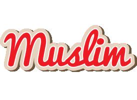 Muslim chocolate logo