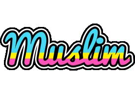 Muslim circus logo