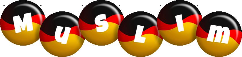 Muslim german logo