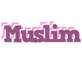 Muslim relaxing logo