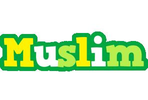 Muslim soccer logo