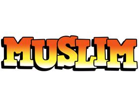 Muslim sunset logo