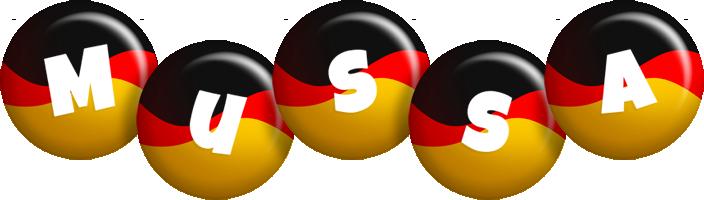 Mussa german logo