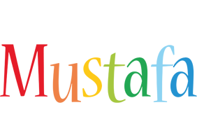 Mustafa birthday logo