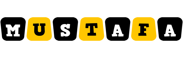 Mustafa boots logo