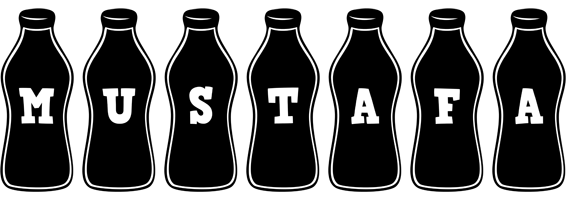Mustafa bottle logo