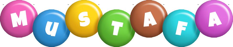 Mustafa candy logo