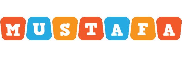 Mustafa comics logo