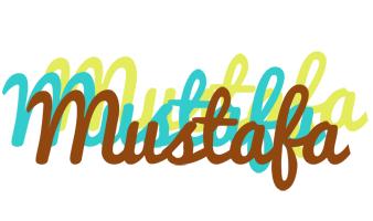 Mustafa cupcake logo