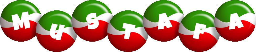 Mustafa italy logo