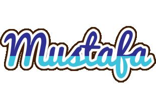 Mustafa raining logo