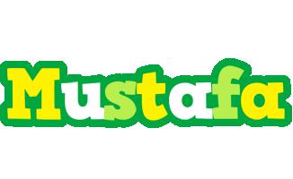 Mustafa soccer logo