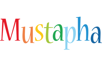 Mustapha birthday logo