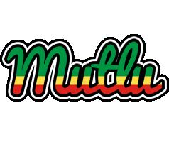 Mutlu african logo