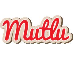 Mutlu chocolate logo