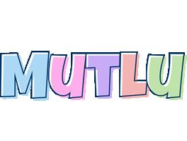 Mutlu pastel logo