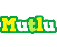 Mutlu soccer logo