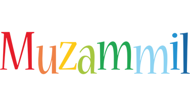 Muzammil birthday logo