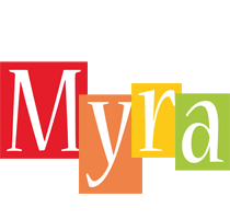 Myra colors logo