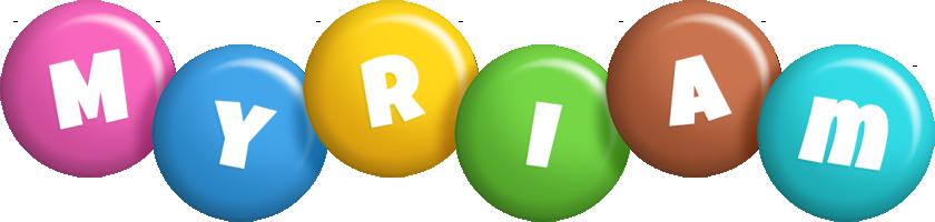 Myriam candy logo