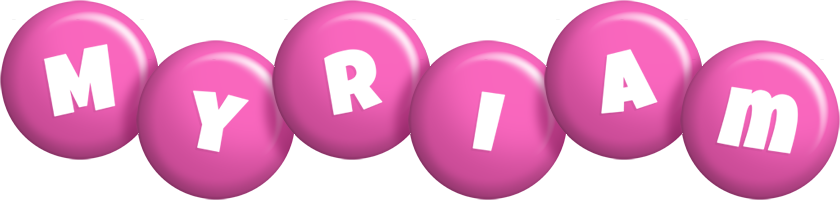 Myriam candy-pink logo