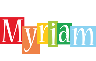 Myriam colors logo