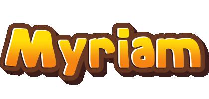 Myriam cookies logo