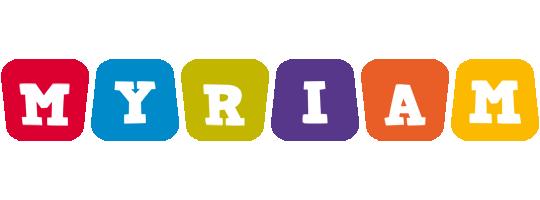 Myriam daycare logo