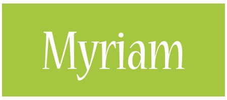 Myriam family logo
