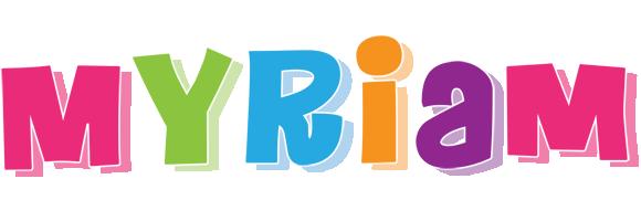 Myriam friday logo