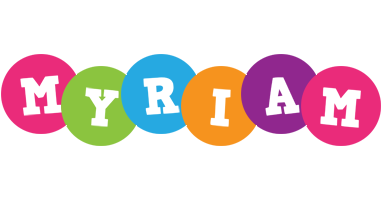 Myriam friends logo