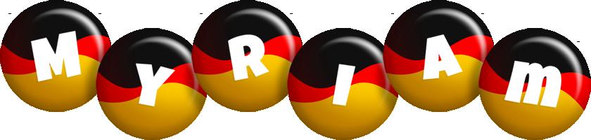 Myriam german logo